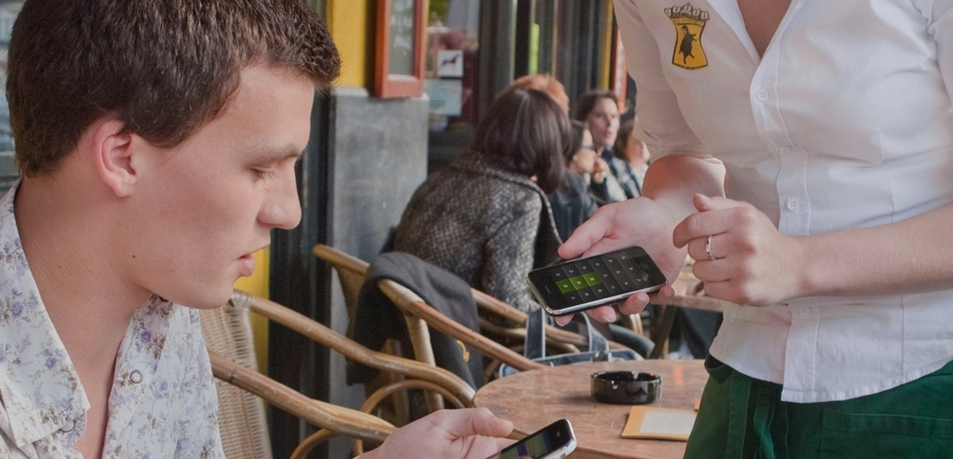 mobiel betalen in de horeca